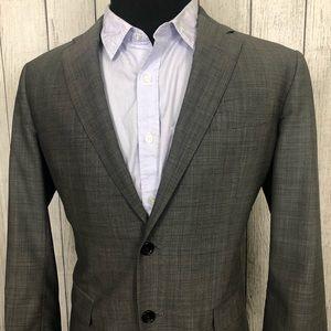 Brooks Brothers 1818 Milano 42R Gray Sports Coat